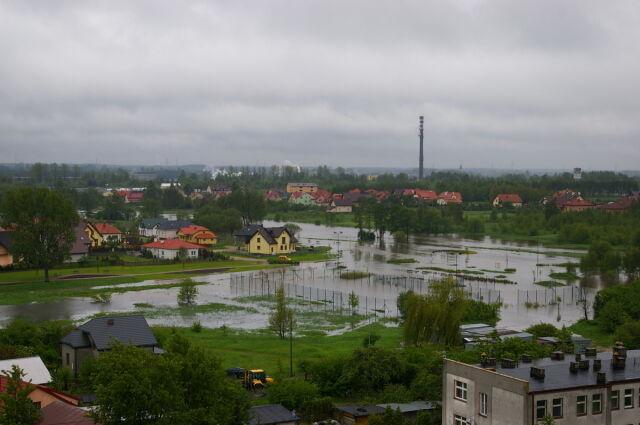 Fala kulminacyjna już w Krakowie