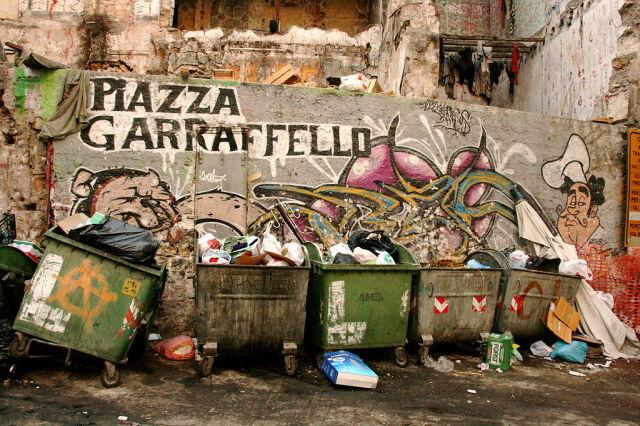 Stolica Sycylii tonie w śmieciach