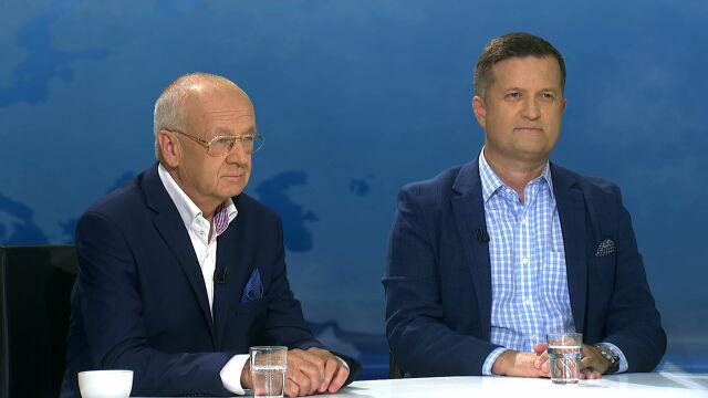 """Prof. Edward Haliżak i gen. Jarosław Stróżyk byli gośćmi programu """"Horyzont"""""""