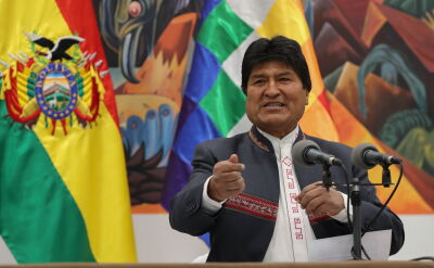 Evo Morales ogłosił się zwycięzcą wyborów prezydenckich w Boliwii
