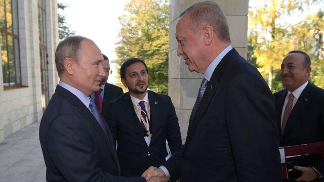 Erdogan u Putina. Kreml: Rosja chce lepiej zrozumieć, co dzieje się w Syrii