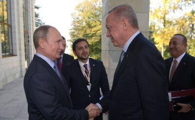 Spotkanie Władimira Putina i Recepa Tayyipa Erdogana w Soczi
