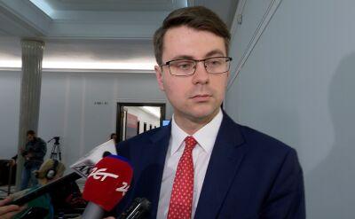 Piotr Mueller i Grzegorz Schetyna o protestach wyborczych