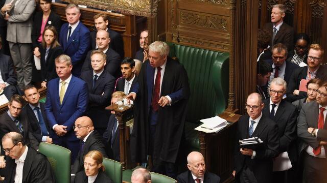 Johnson chce głosowania nad porozumieniem brexitowym. Zdecyduje John Bercow