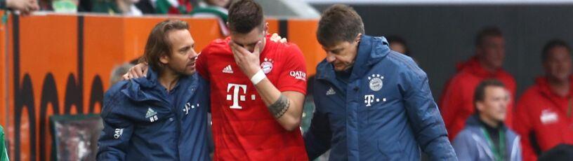 """Dramat obrońcy Bayernu.  """"Może zapomnieć o występie na Euro"""""""