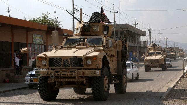 Kreml: Amerykanie zdradzili Kurdów w Syrii