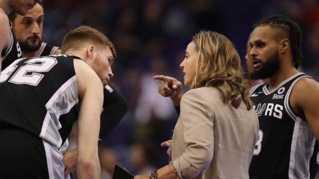 Coraz więcej kobiet w NBA. Rekordowa liczba w roli trenerów-asystentów