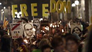 Protesty w Katalonii. Separatyści chcą prawa do referendum niepodległościowego