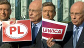"""Borowski przekonywał, że obok kandydata Polskiej Lewicy znalazło się logo """"Lewica"""""""