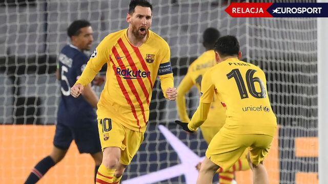 PSG - Barcelona w 1/8 finału Ligi Mistrzów (RELACJA)