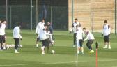 Trening PSG przed meczem z Barceloną
