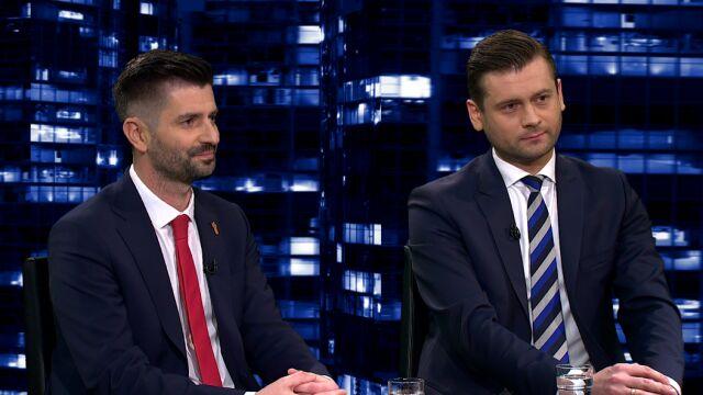 """Krzysztof Śmiszek i Kamil Bortniczuk gośćmi """"Kropki nad i"""""""