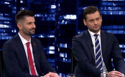 """Krzysztof Śmiszek i Kamil Bortniczuk w """"Kropce nad i"""""""