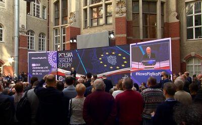Prezes PiS o dyrektywie o prawie autorskim: wolność będzie zachowana