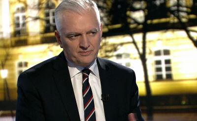 """Jarosław Gowin w """"Faktach po Faktach"""". Cała rozmowa"""