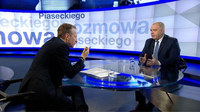"""Jacek Sasin o wypłacie """"trzynastki"""" dla emerytów i rencistów w kolejnych latach"""
