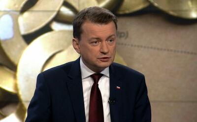 Błaszczak: nie możemy narazić Polaków na to, co działo się w noc sylwestrową w Kolonii