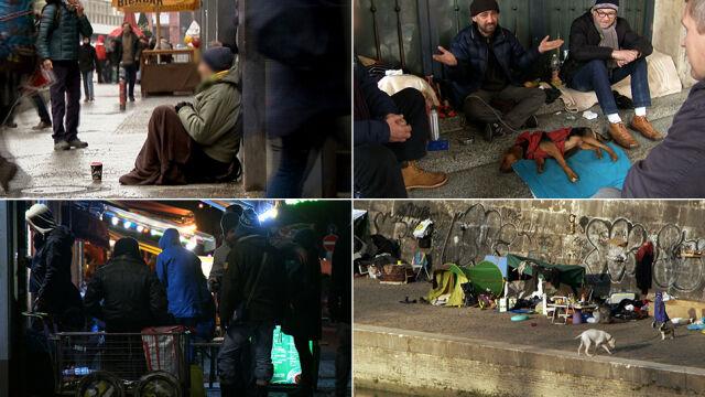 Jak żyją bezdomni Polacy w Europie. Korzystają z wielu