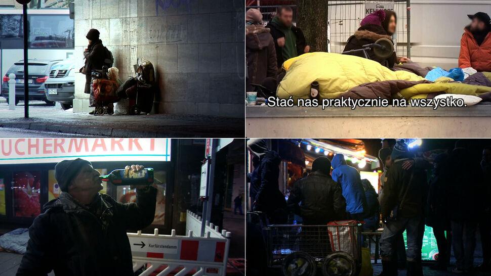 Jak żyją bezdomni Polacy w europejskich miastach?