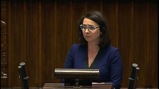 Gasiuk-Pihowicz: szacunek dla prawa kiedyś na tej sali był standardem