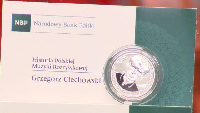 Grzegorz Ciechowski trafił na monety
