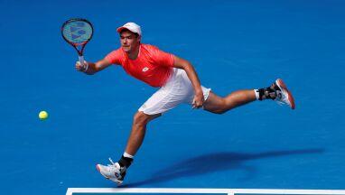 Krótka przygoda Kamila Majchrzaka z Australian Open