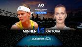 Skrót meczu Minnen - Kvitova w 1. rundzie Australian Open
