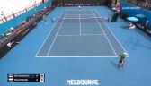 Majchrzak przegrał 1. seta z Kecmanoviciem w 1. rundzie Australian Open