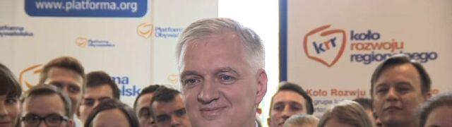 Gowin: wystartuję na szefa PO. Polska potrzebuje zmian