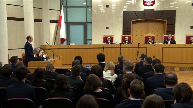 Borys Budka przeciwny wnioskowi o odroczenie rozprawy TK