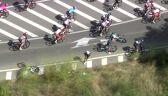 Kraksa podczas Vuelta a Espana