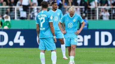 VfL Wolfsburg wyrzucony z Pucharu Niemiec