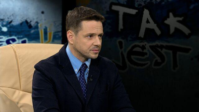 Rafał Trzaskowski w Tak Jest