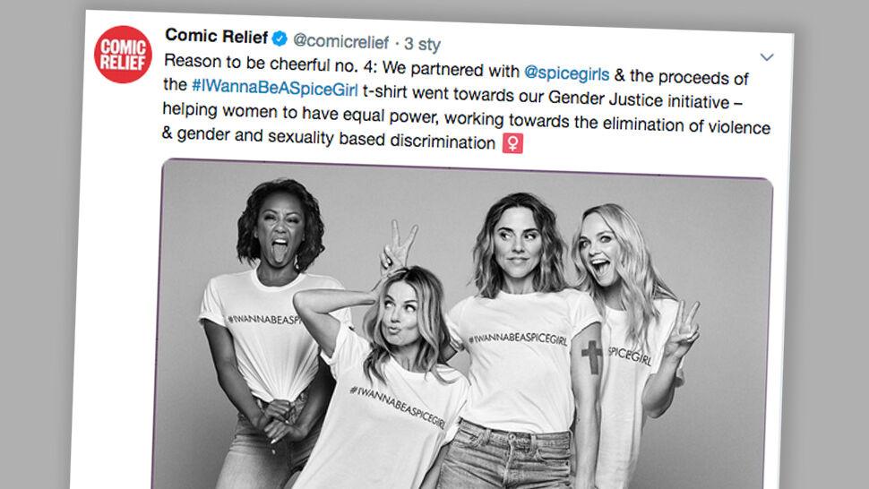 """Koszulki Spice Girls na rzecz równouprawnienia. """"Guardian"""": przy produkcji wykorzystuje się kobiety"""