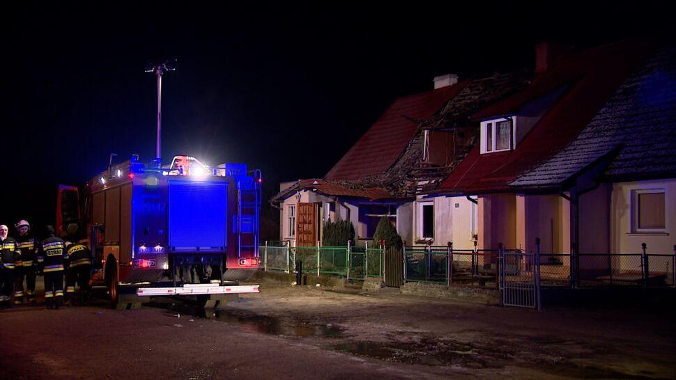 Strażacy weszli do domu, wtedy wybuchł gaz. Ranni