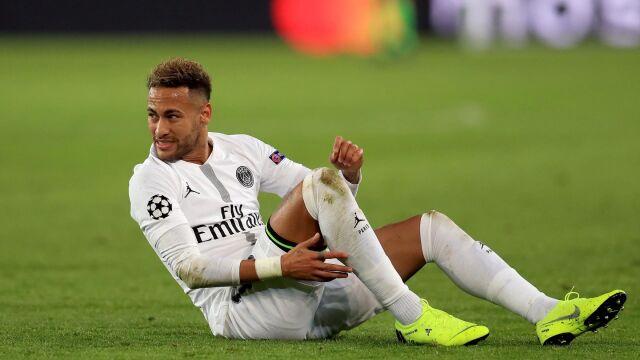 Niepokój w PSG, Neymar znów kontuzjowany