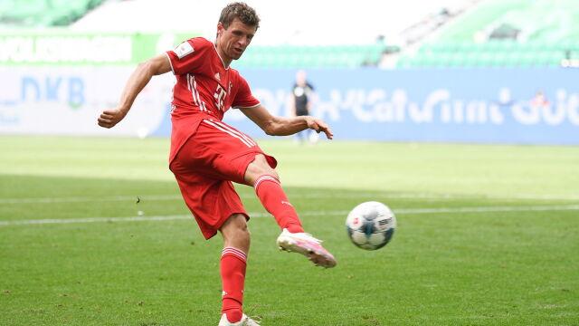 Lepszego asystenta Niemcy nie widzieli. Thomas Mueller pobił rekord Bundesligi