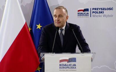 Schetyna: 18 maja w Warszawie wielki marsz organizowany przez Koalicję Europejską