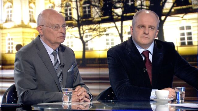 """Marek Borowski i Paweł Kowal w """"Faktach po Faktach"""""""