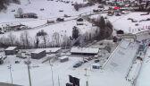 Skok Dawida Kubackiego z 1. serii konkursu w Garmisch-Partenkirchen