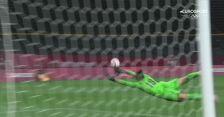 Piłka nożna kobiet. Japonia - Kanada 1:1 (gol Mana Iwabuchi)