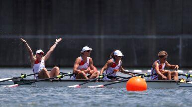 Czwórka podwójna kobiet myślami już z finale.