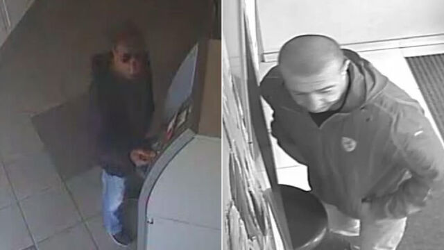 Pułapka klejowa w bankomatach.  Ten mężczyzna jest o to podejrzewany