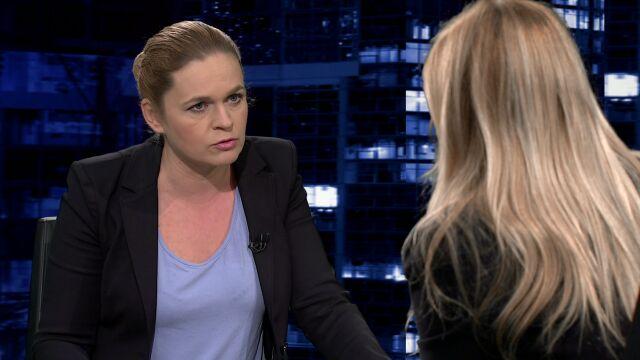 """Barbara Nowacka gościem """"Kropki nad i"""" TVN24"""
