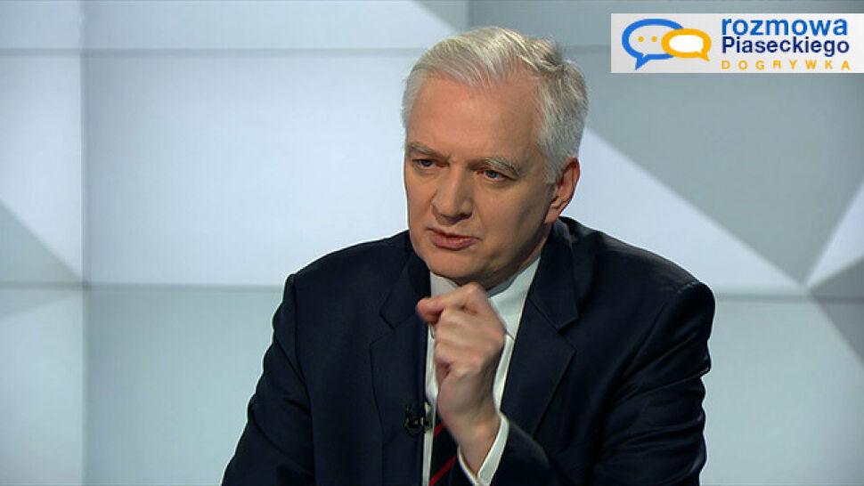 """Pytania o przyszłość Glapińskiego. """"Patrzy na Chrzanowskiego jak na wychowanka"""""""