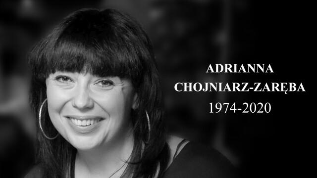 Żegnamy Adriannę Chojniarz-Zarębę