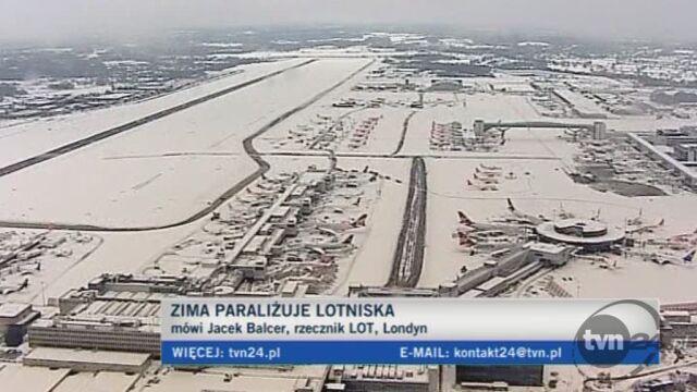 Rzecznik LOT-u o sytuacji na lotniskach Europy