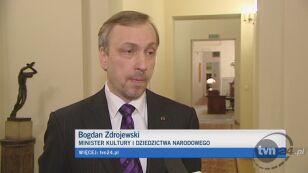 Bogdan Zdrojewski o nagrodzie
