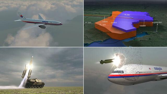 Wstrząsające pięć minut. Zobacz, jak zestrzelono MH17