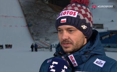 Doleżal podsumował konkurs w Garmisch-Partenkirchen